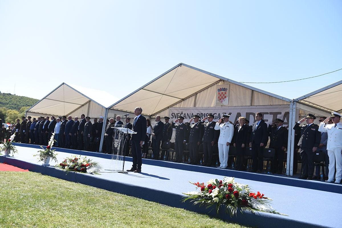 17. naraštaj kadeta položio svečanu prisegu u Kninu