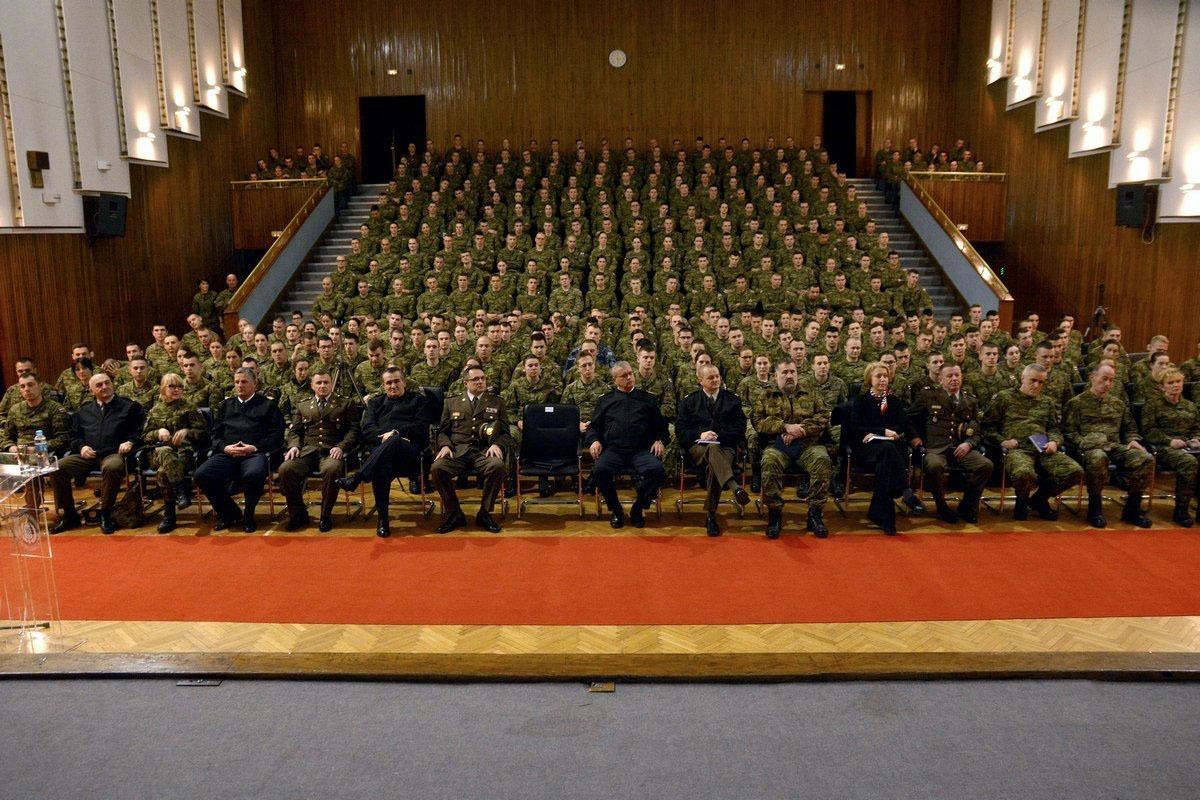 Admiral Raffanelli održao predavanje kadetima na HVU-a