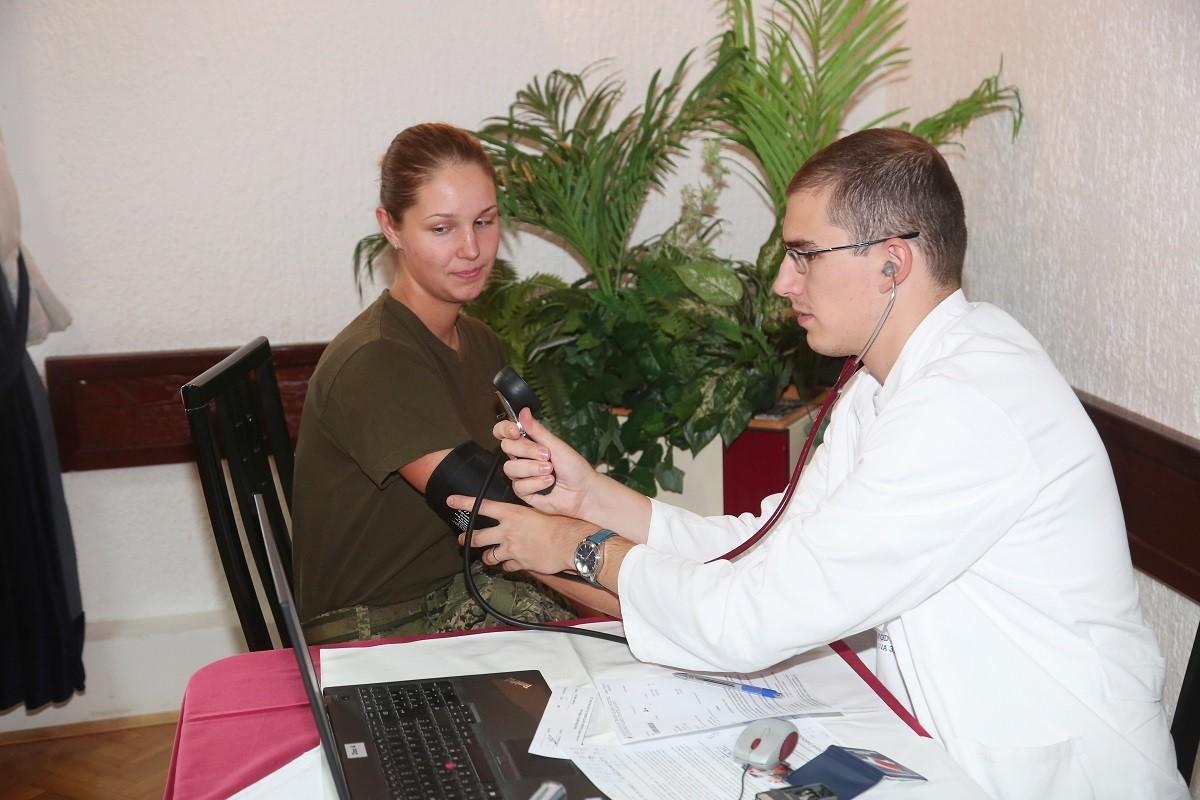 """Akcija dobrovoljnog darivanja krvi na HVU """"Dr. Franjo Tuđman"""""""