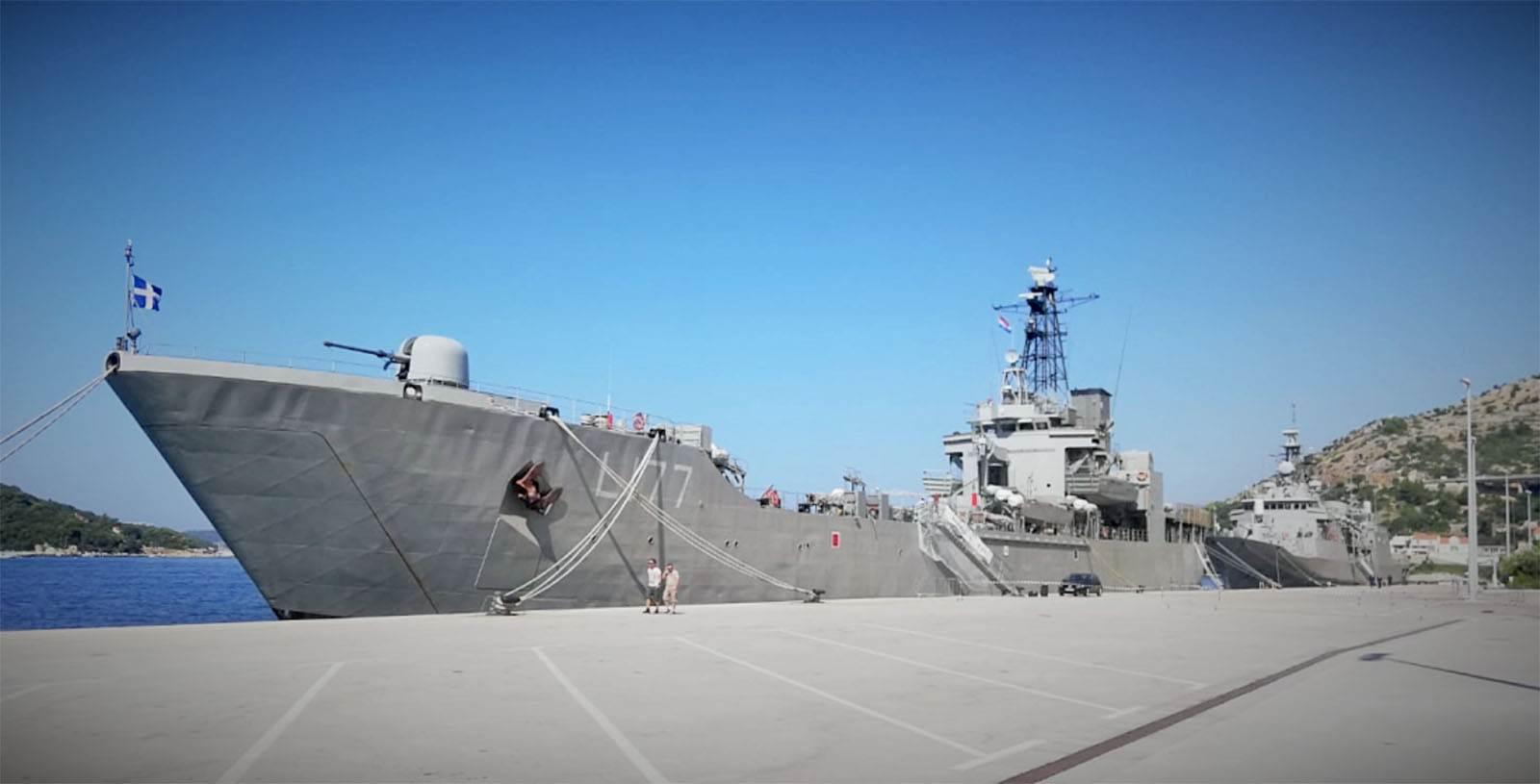 Brodovi Ratne mornarice Helenske Republike u posjetu HRM-u i Dubrovniku