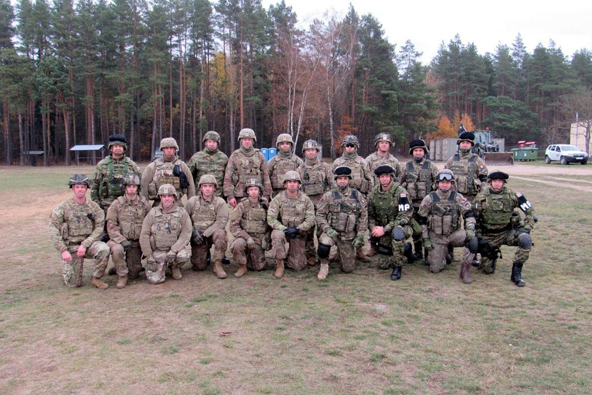 Gađanje iz osobnog naoružanja u Poljskoj