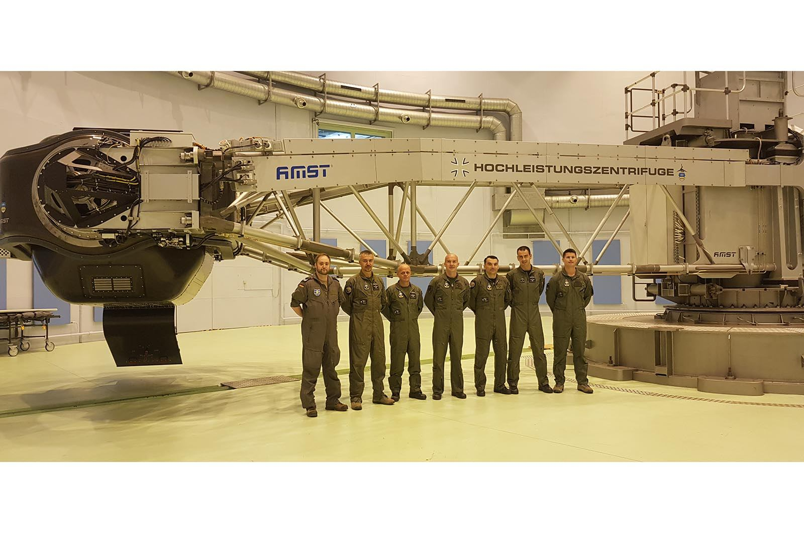 Fiziološki trening i obuka za borbene pilote HRZ-a u Njemačkoj