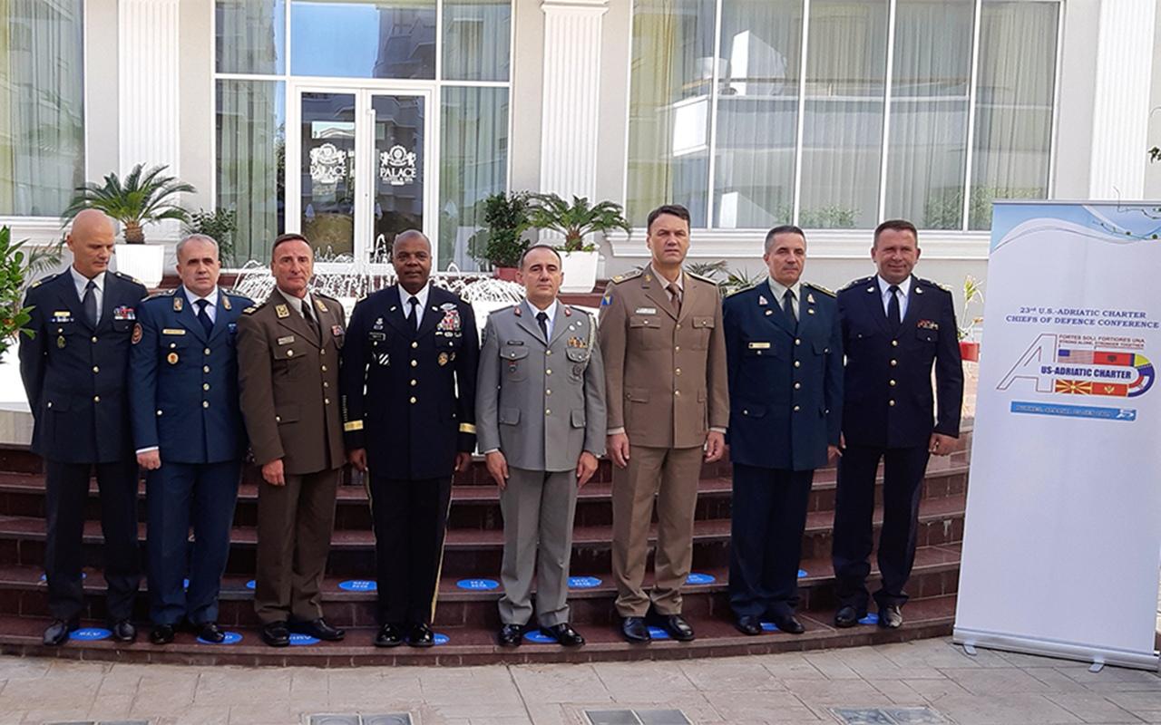 23. Konferencija načelnika Glavnih stožera država članica Američko – jadranske povelje A – 5 u Republici Albaniji | Foto: KNGS