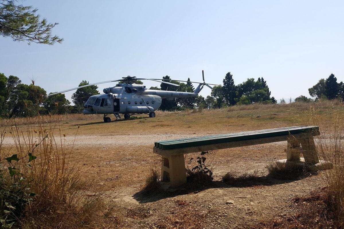 Helikopter HRZ-a sudjelovao u spašavanju ozlijeđenog planinara