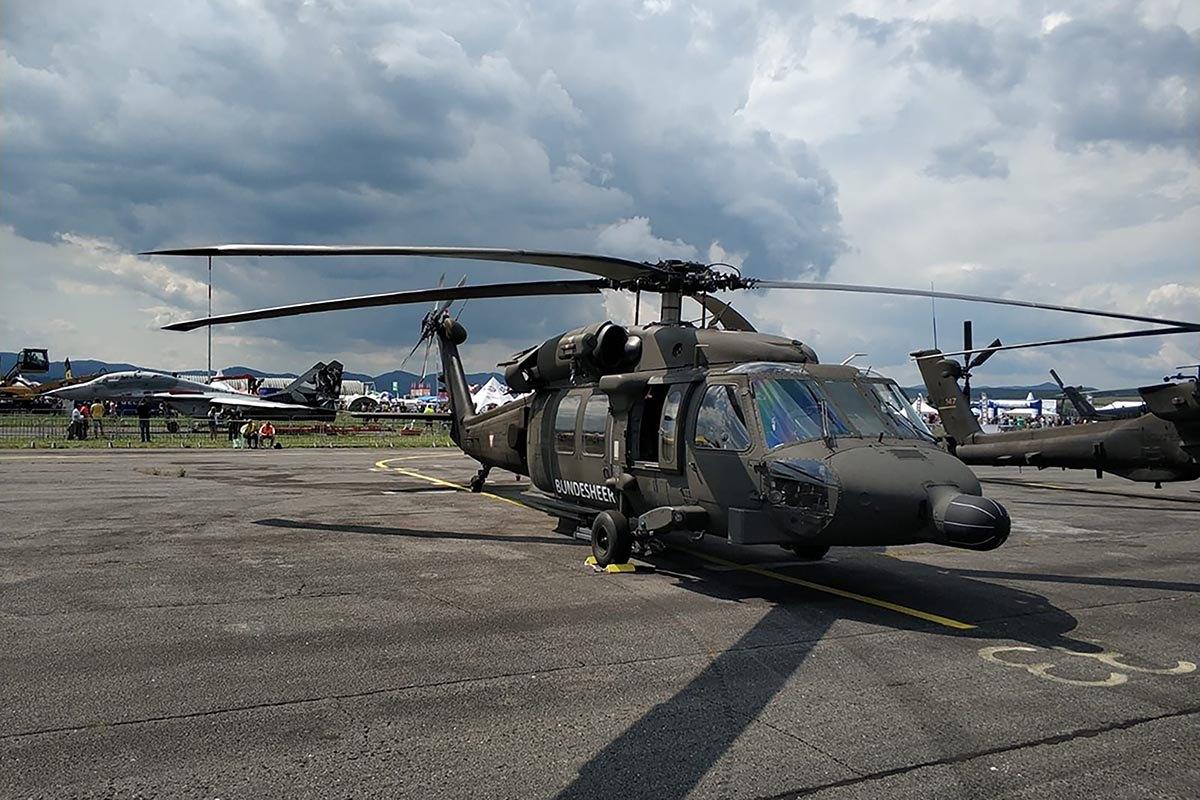 Helikopteri Kiowe vratile se s međunarodnog mitinga u Slovačkoj