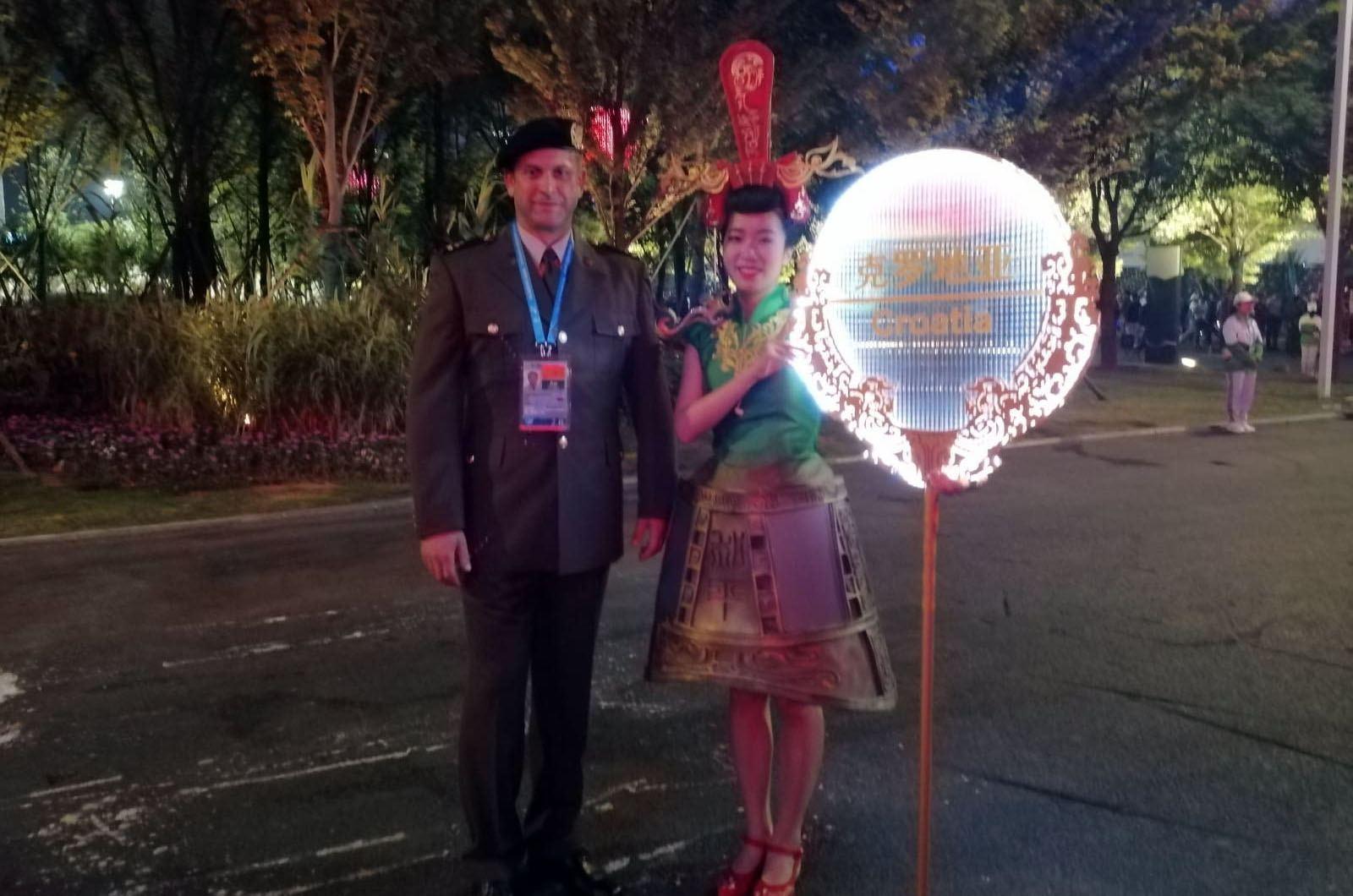 Hrvatska vojska na 7. svjetskim vojnim igrama u Kini