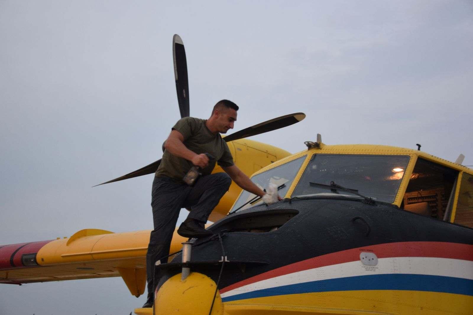 Hrvatska vojska na najvećem ovogodišnjem požarištu