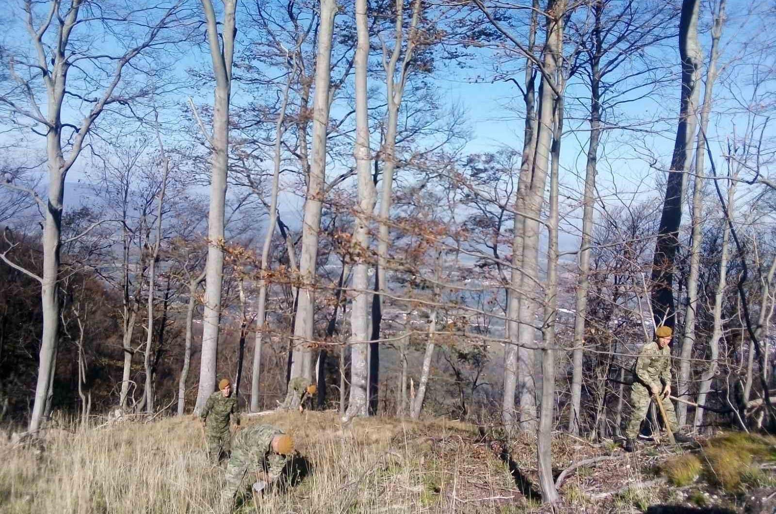 """Pume sudjelovale u inicijativi """"Dani kolektivne sadnje drveća"""" na Sjevernoj Ivanščici i Ravnoj Gori   Foto: HV   M. Ernoić / T. Pejaković"""