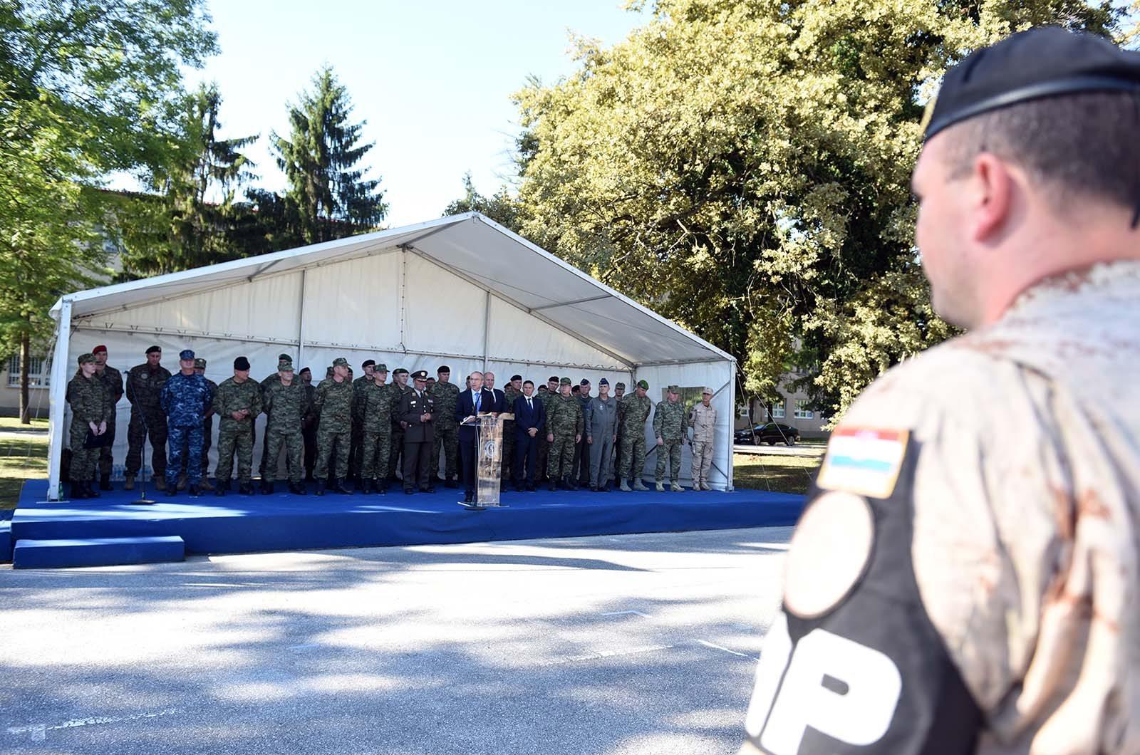 Ispraćen 11. hrvatski kontingent u Afganistan