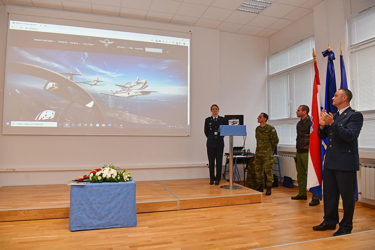 Izložba o Rudolfu Perešinu i nova internetska stranica vojni pilot.hr |Foto: MORH / T. Brandt