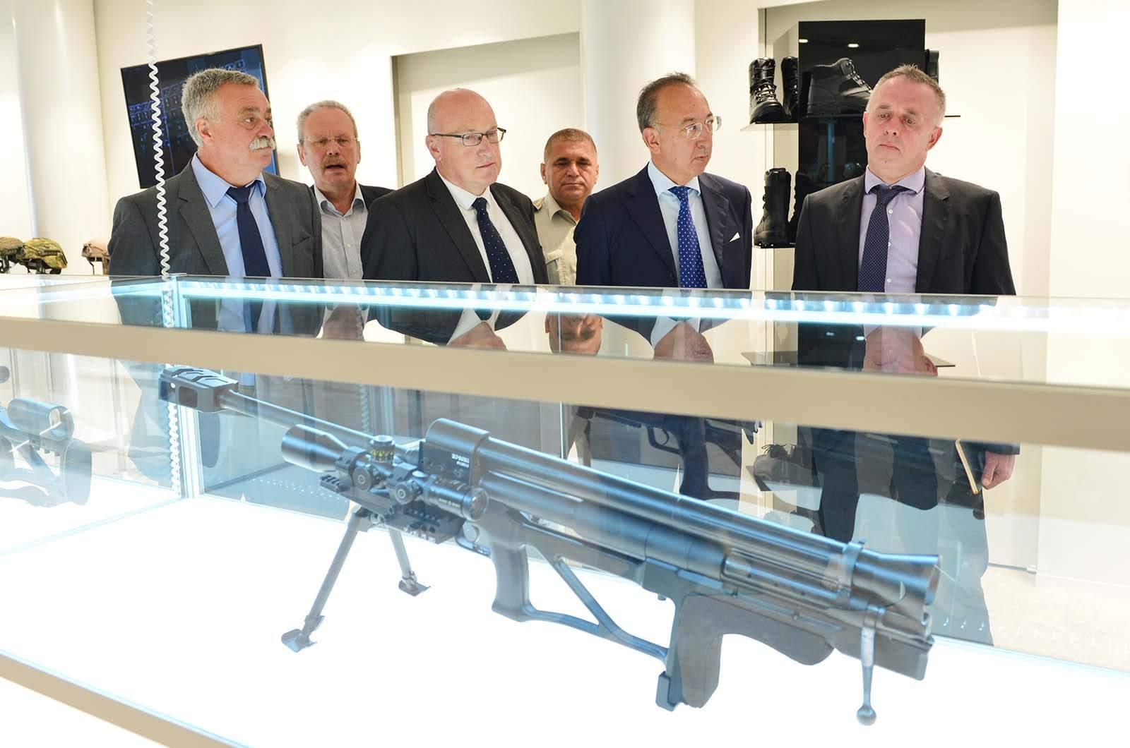 Izvršni direktor Europske obrambene agencije u posjetu MORH-u