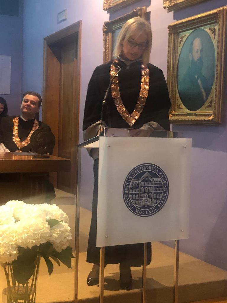 Kadet Matija Mršo primio posebno priznanje rektora Sveučilišta u Zagrebu