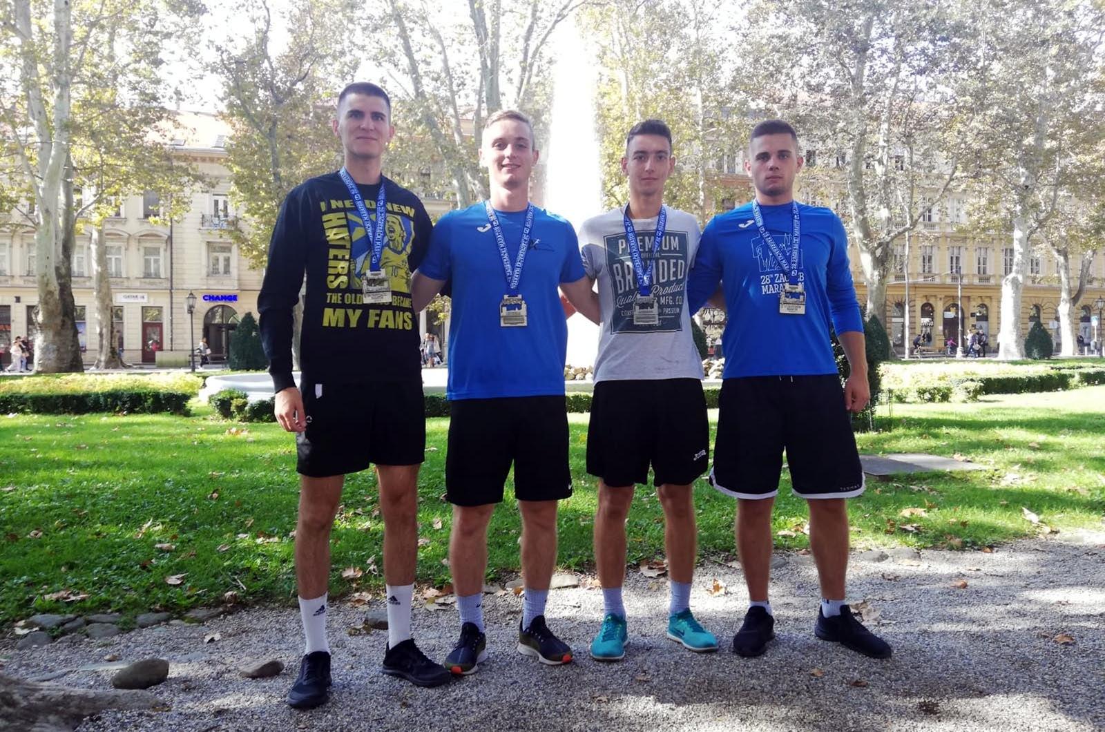 Kadeti drugi u štafetnoj utrci na 28. zagrebačkom maratonu