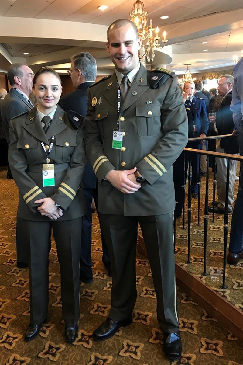 Kadeti Hrvatske vojske na konferenciji razmjene kadeta u Sjedinjenim Američkim državama