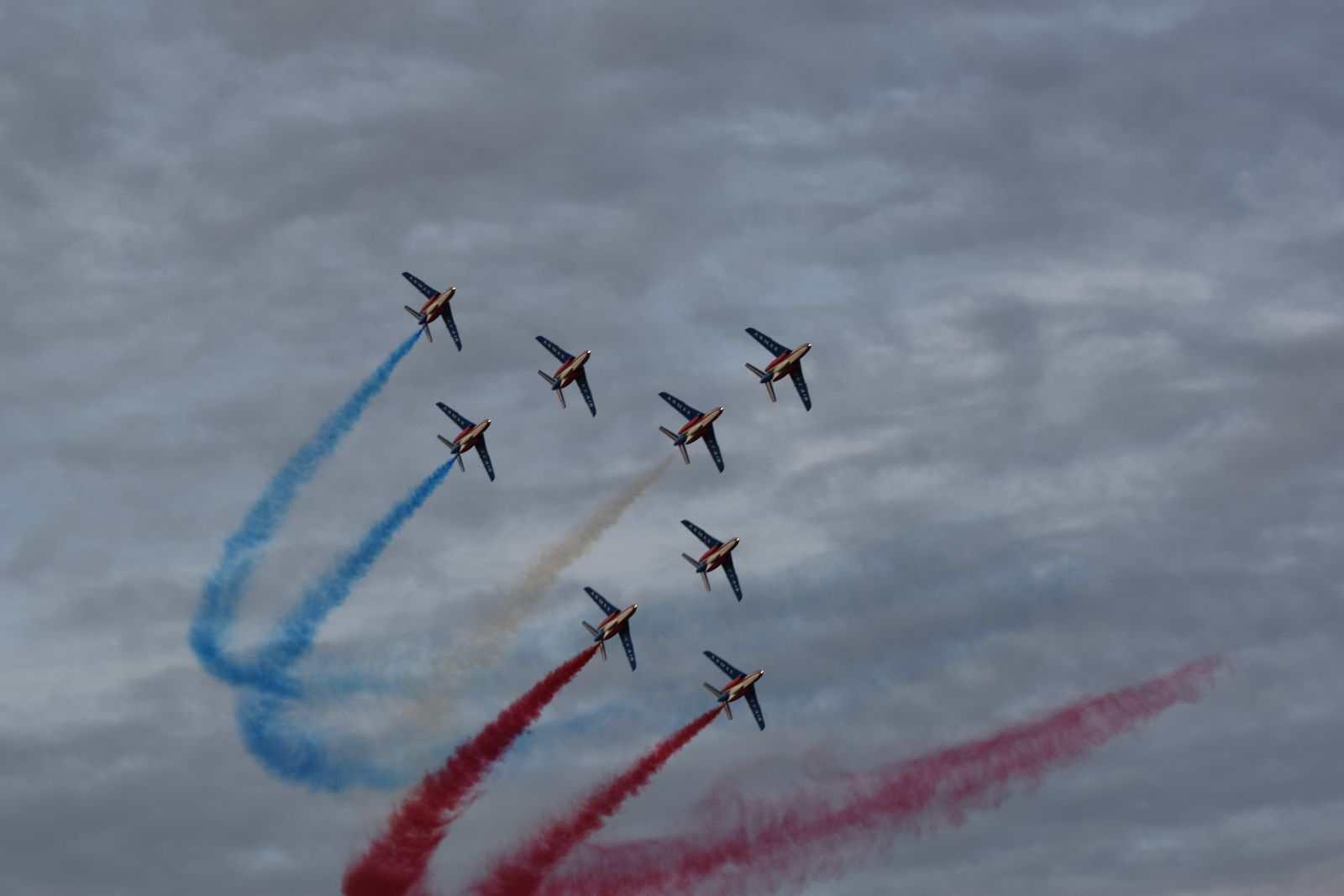 """Krila Oluje"" i ""Patrouille de France"" izveli zajednički prelet i trenažne letove"