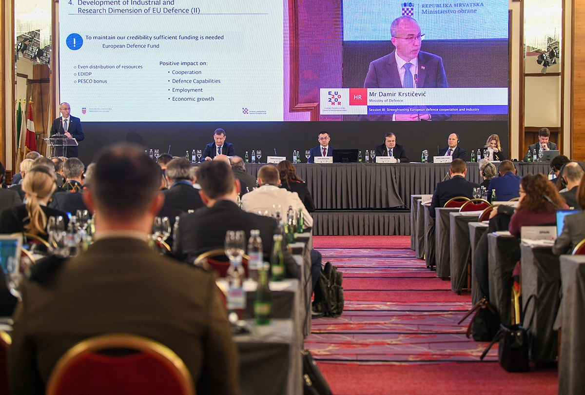 Krstičević na Međuparlamentarnoj konferenciji o vanjskoj, sigurnosnoj i obrambenoj politici EU