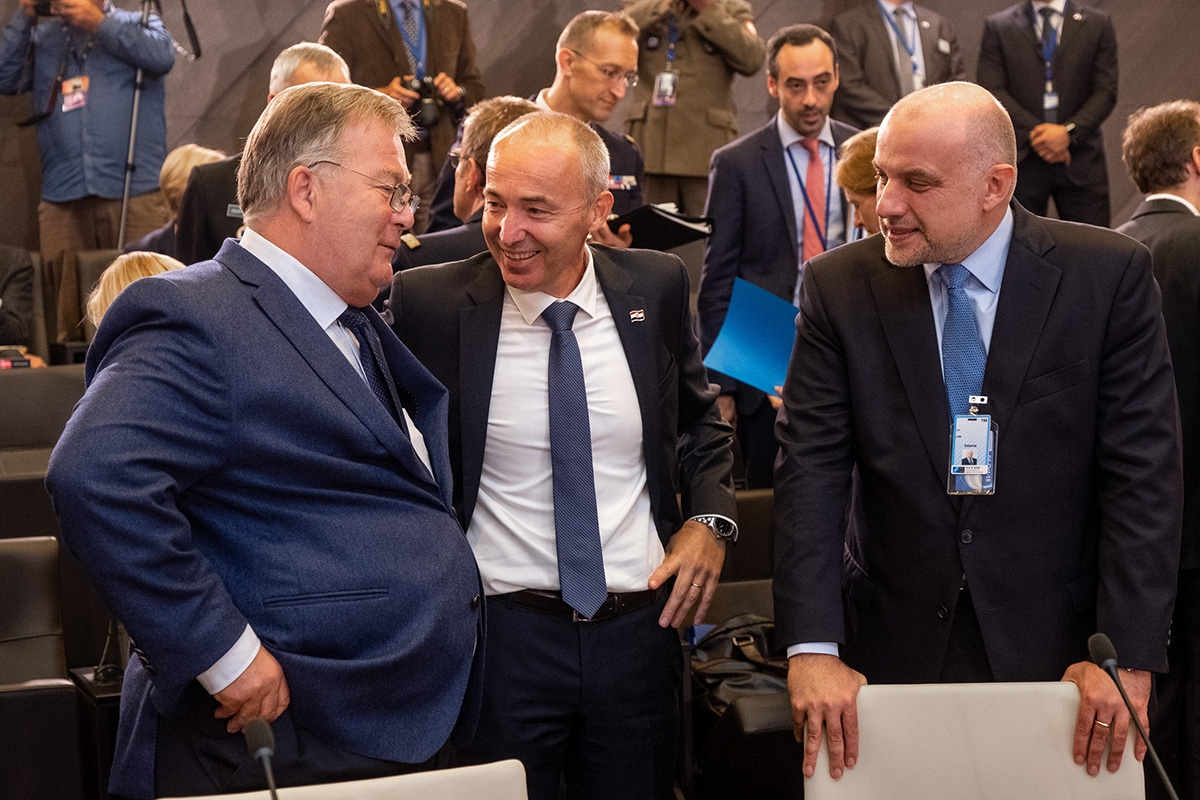 Krstičević na sastanku ministara obrane NATO-a
