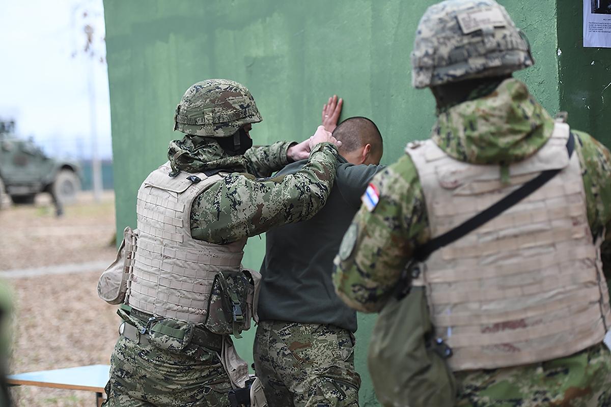 """Međunarodna vojna vježba """"MIR 20/1"""" na Gašincima i Udbini"""