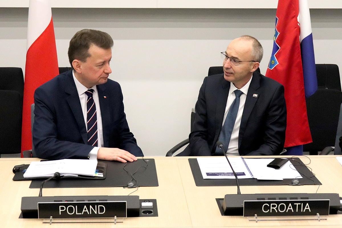 Ministar Krstičević s ministrima obrane Poljske
