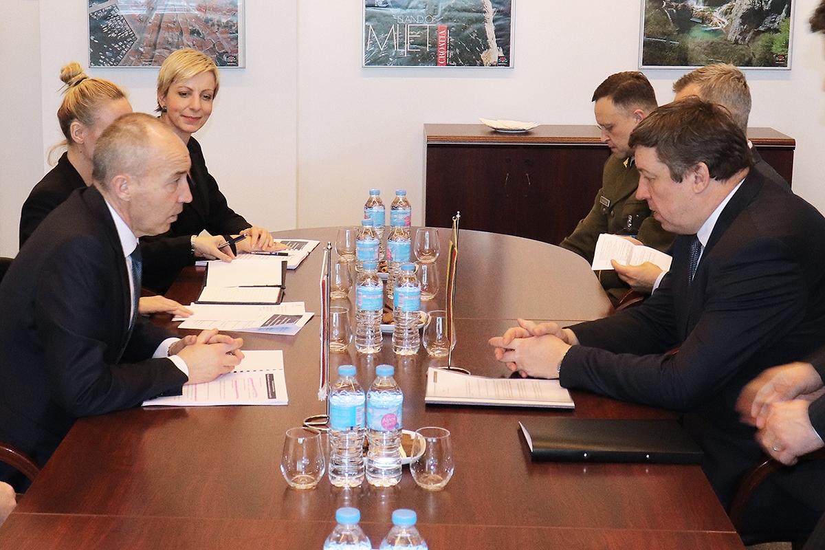 Ministar Krstičević s ministrima obrane Litve