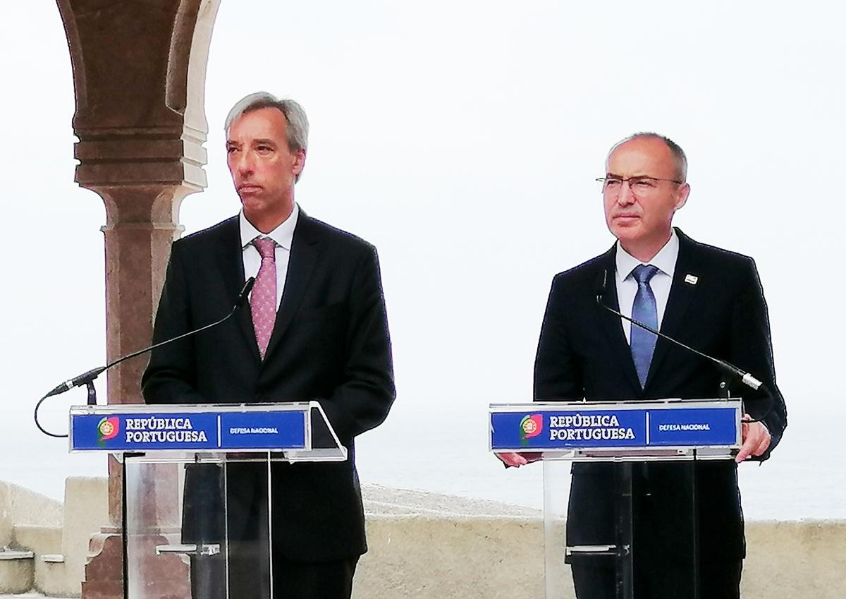 Ministar Krstičević s portugalskim ministrom Cravinhom