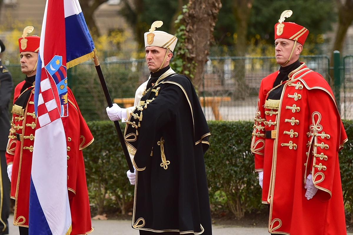 Ministar obrane Talijanske Republike u posjetu MORH-u