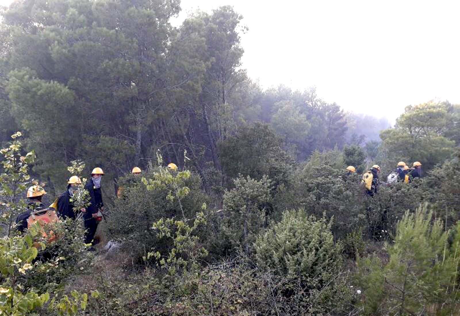 Na požarište kod Šibenika upućene i kopnene snage Hrvatske vojske