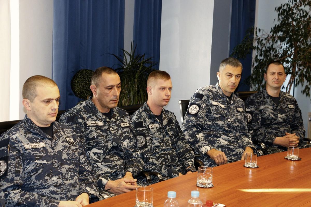 Najbolji mornari i dočasnici HRM-a za rujan-prosinac 2019. godine