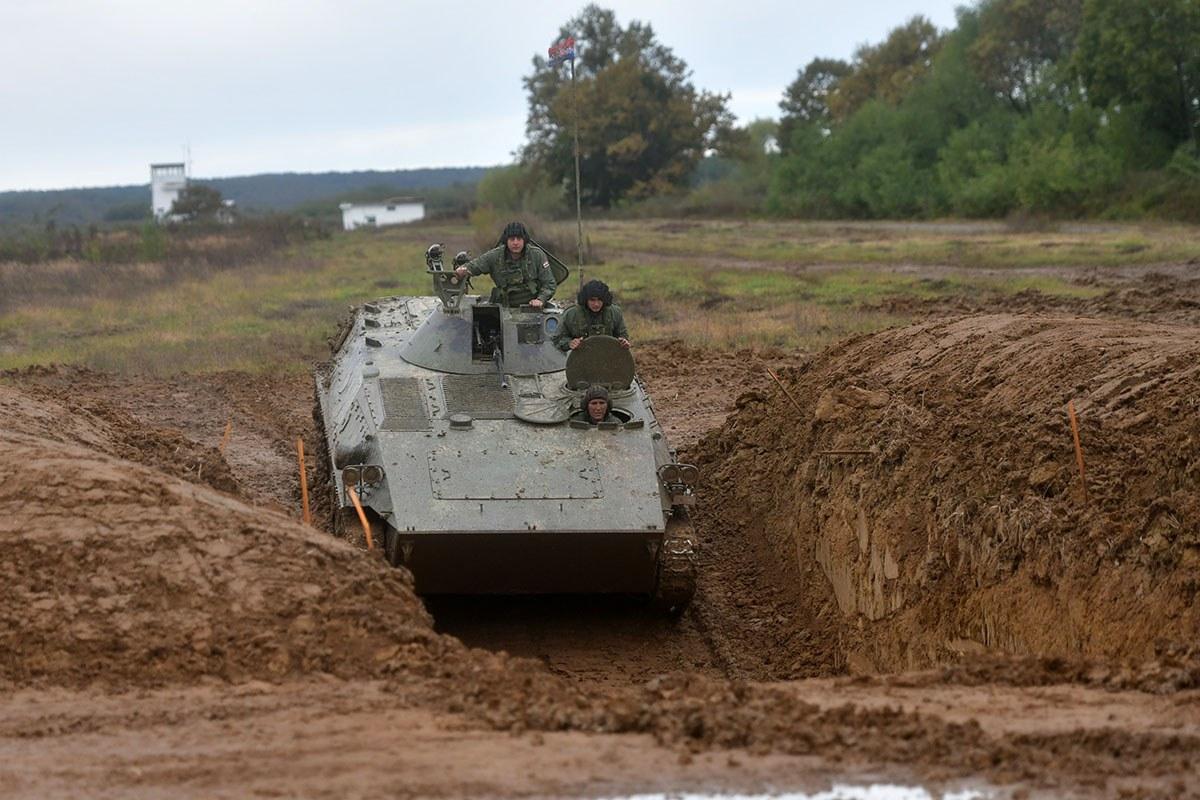 Natjecanje tenkovskih i oklopno-mehaniziranih posada GOMBR-a