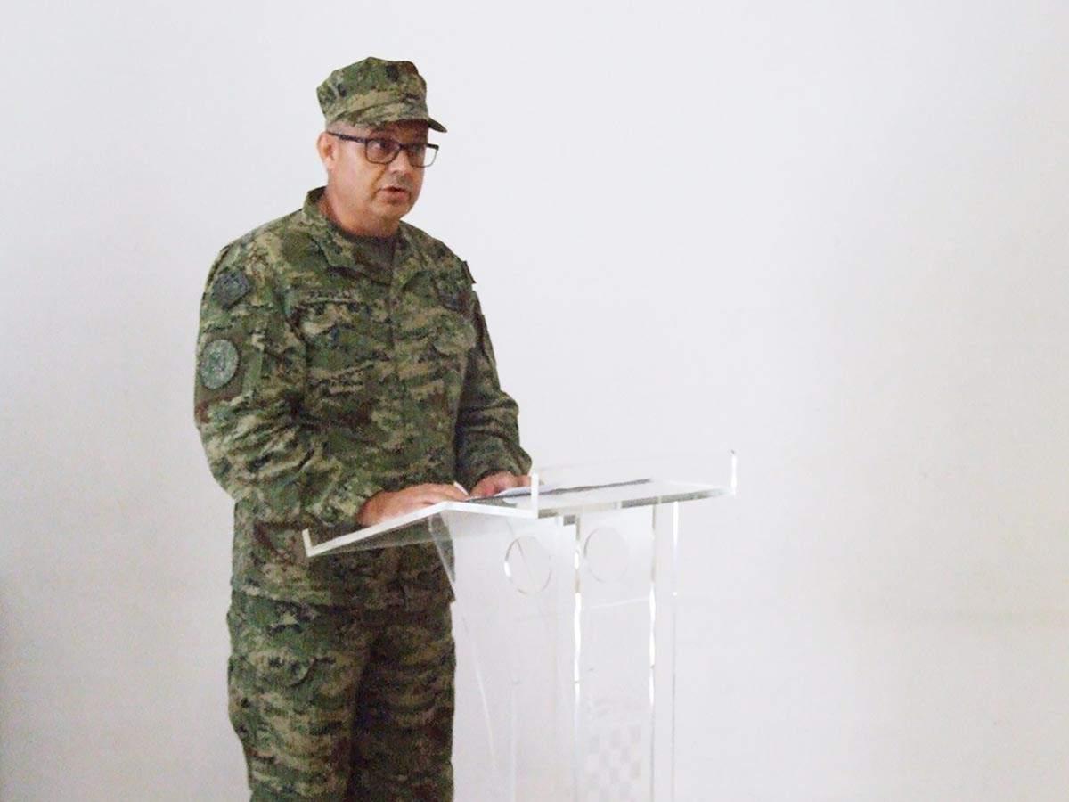 Primopredaja zapovjednika Središta za temeljnu obuku u Požegi