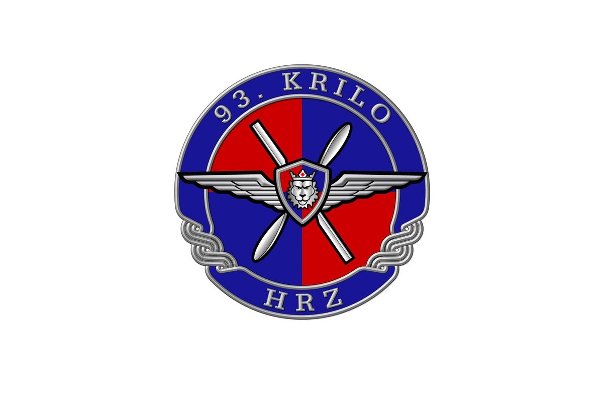 Oznaka 93. krilo HRZ