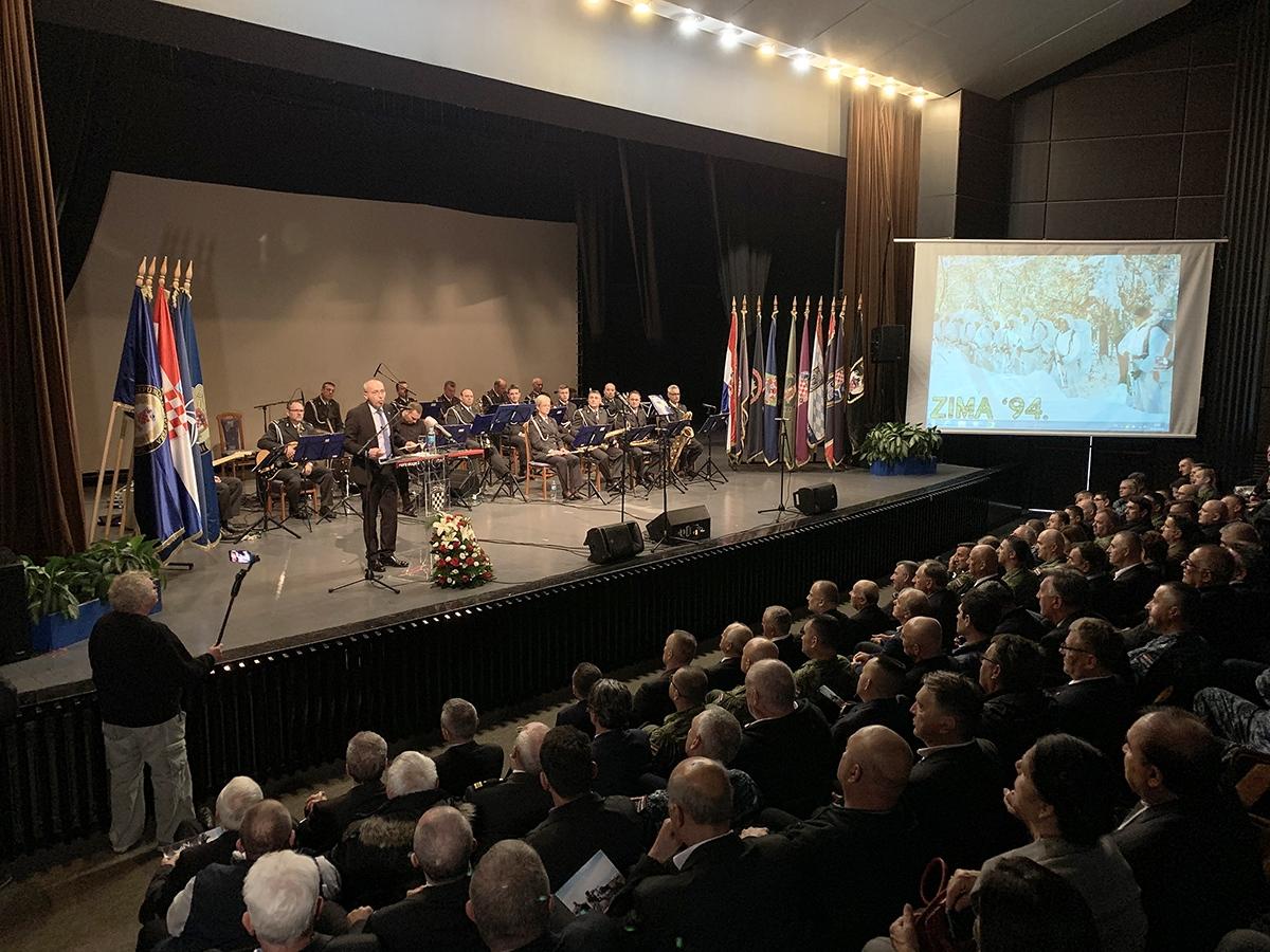 U Splitu obilježena 25. obljetnice operacije Zima '94
