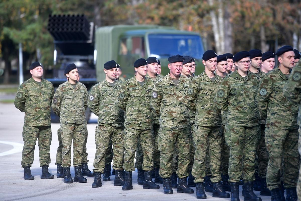 Svečano obilježavanje 27. obljetnice ustrojavanja 9. gardijske brigade Vukovi i dana bojne Vukovi Gardijske mehanizirane brigade (GMBR)| Foto: MORH / T. Brandt