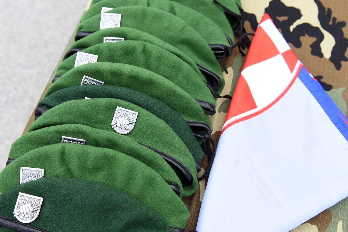 Svečano obilježavanje 28. obljetnice ustrojavanja 2. gardijske brigade Gromovi i 12. obljetnice ustrojavanja 2. mehanizirane bojne Gromovi Gardijske mehanizirane brigade Hrvatske kopnene vojske Oružanih snaga RH
