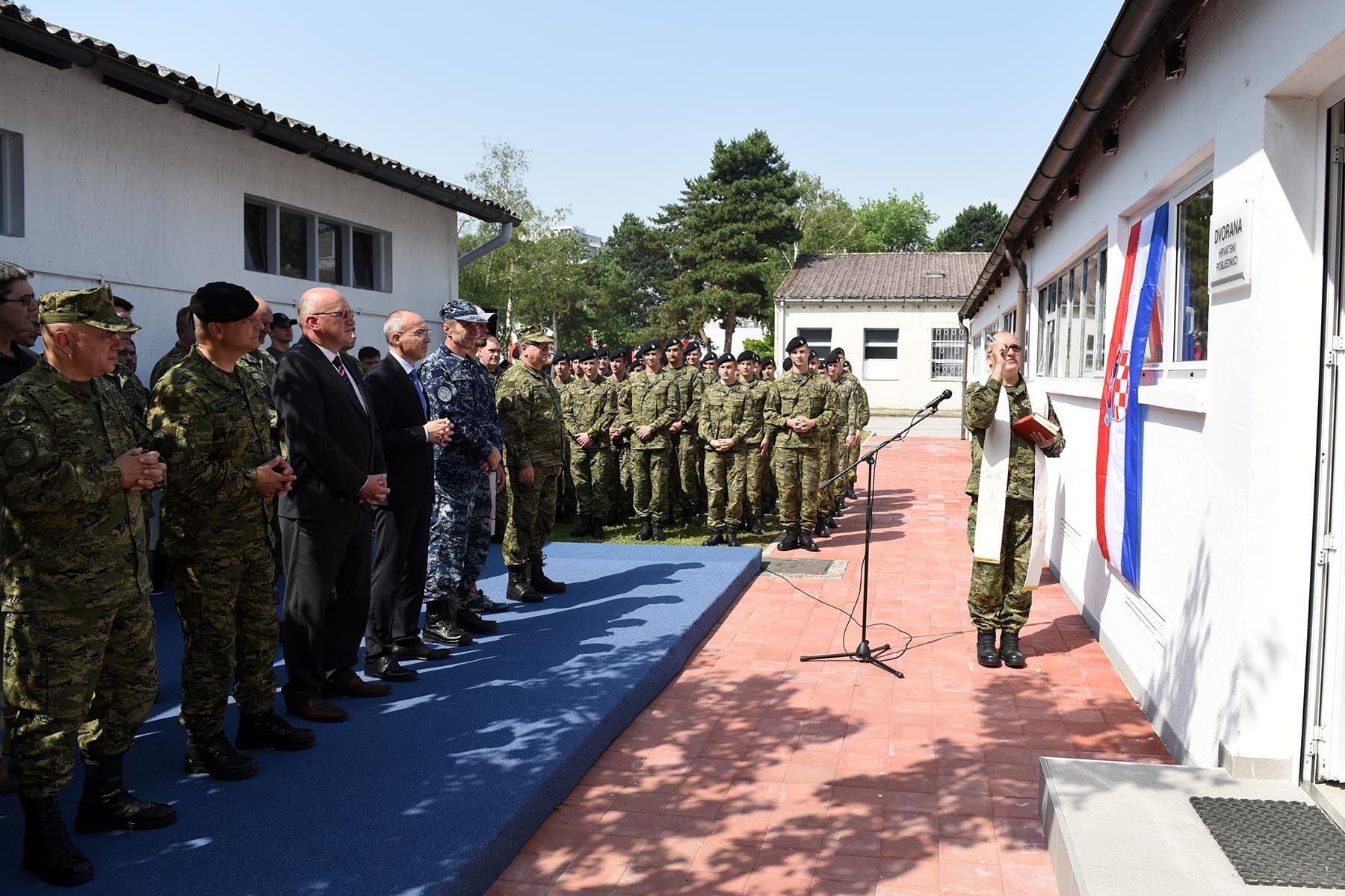 Održan Športski dan pripadnika Hrvatske vojske