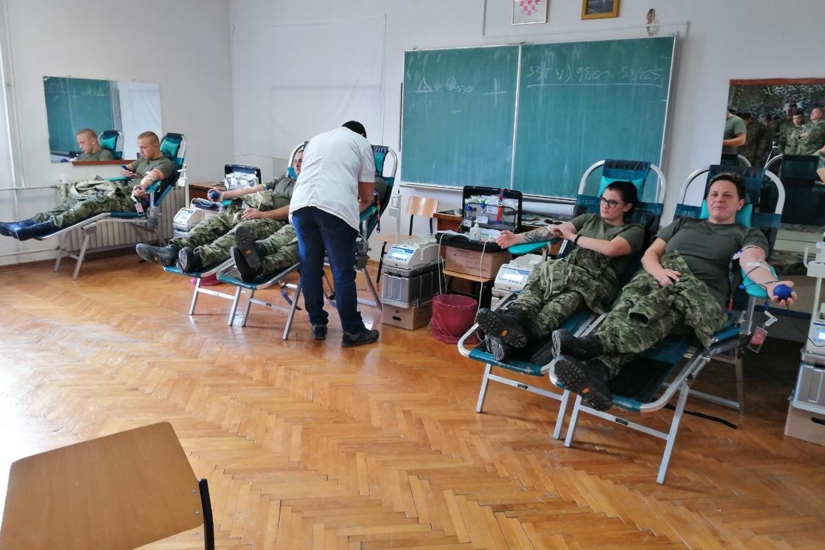 """Održana akcija """"Hrvatska vojska za Vukovar i Škabrnju 2019"""""""