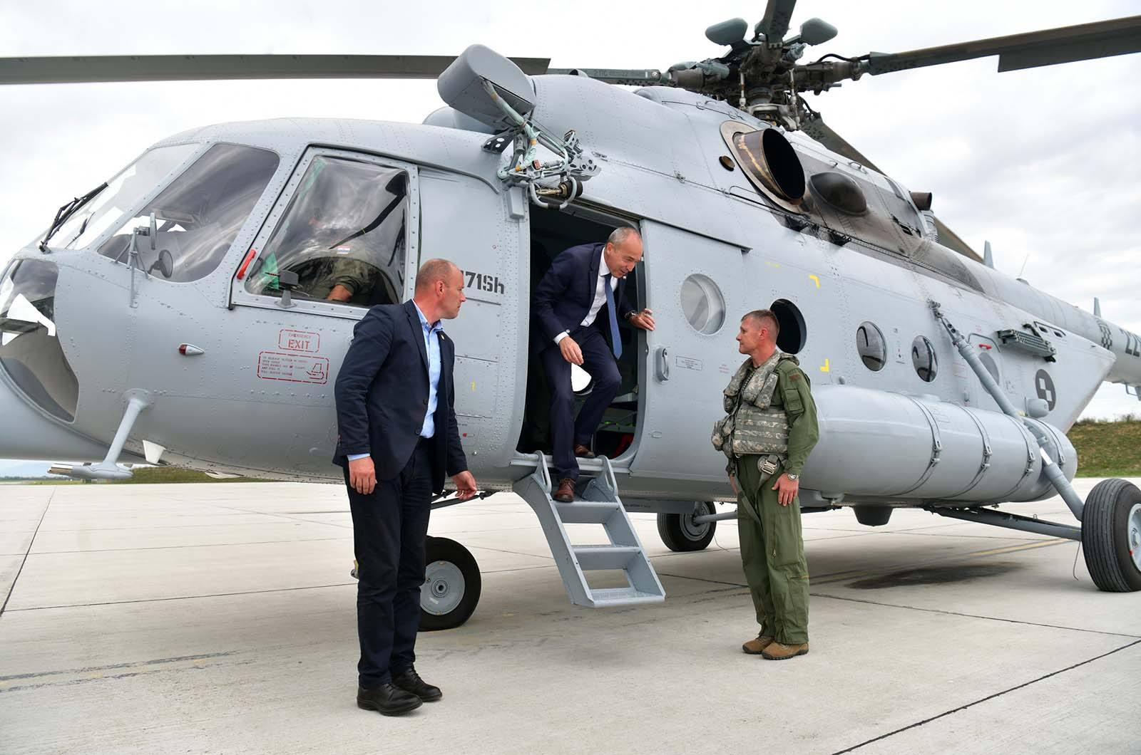 Održana prezentacija remontiranih helikoptera Mi-171Sh na Plesu