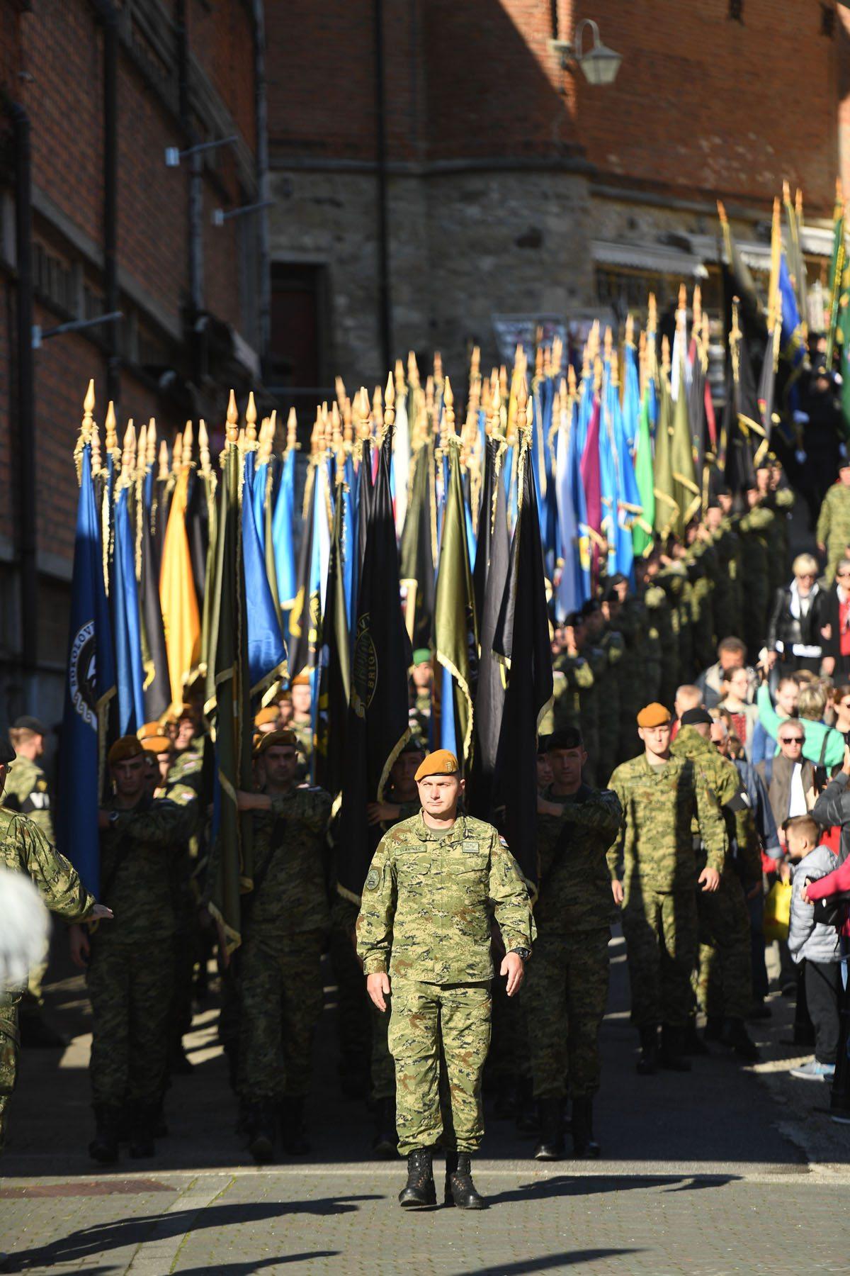 Održano 27. hodočašće Hrvatske vojske, policije i branitelja u Mariju Bistricu