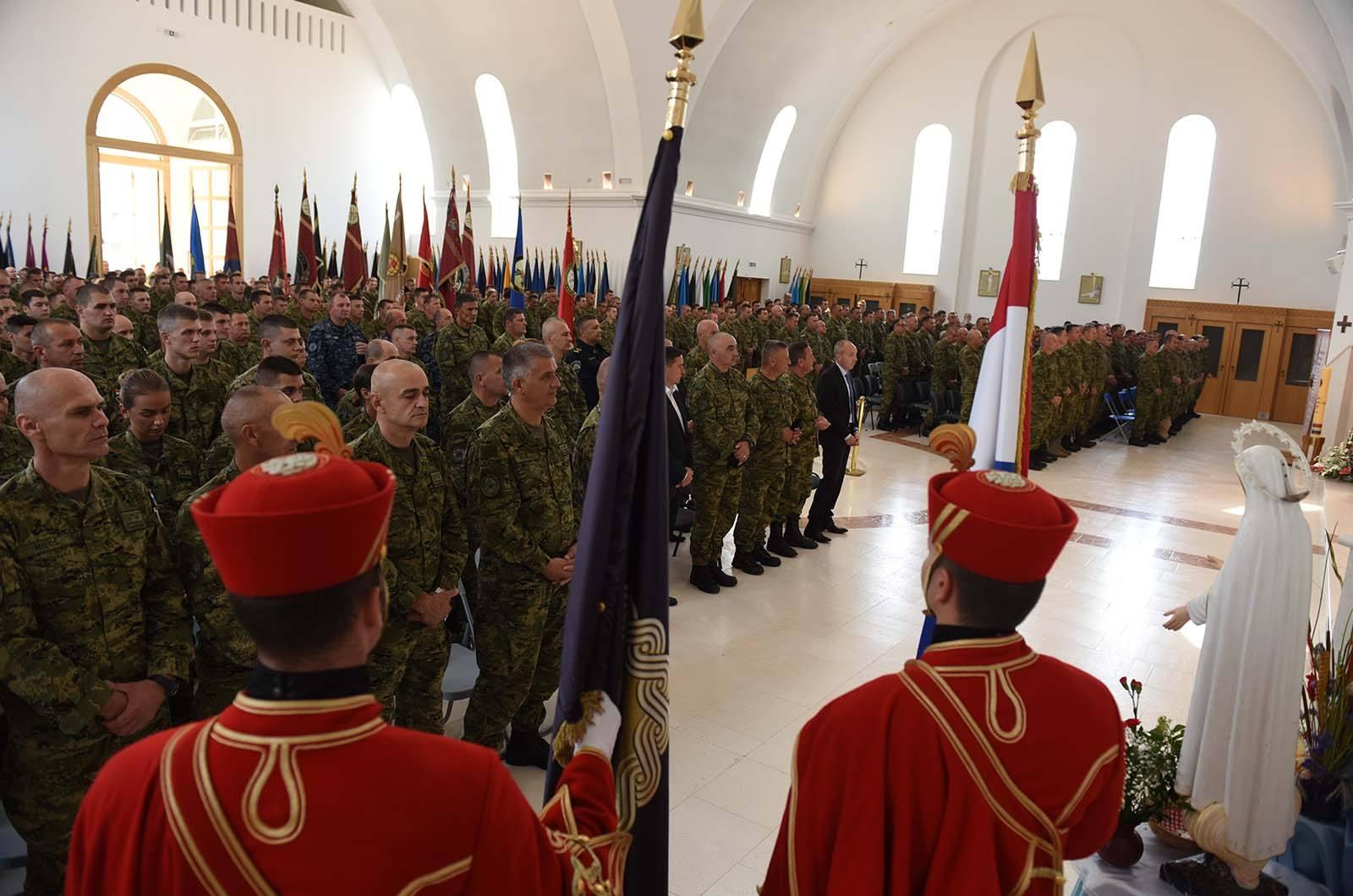 4. vojno hodočašće Hrvatske kopnene vojske na Udbinu