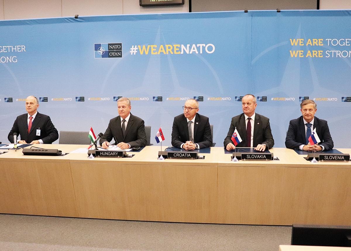 Na svečanoj ceremoniji u NATO-u u Bruxellesu potpisan Sporazum o razumijevanju za uspostavu Regionalnog zapovjedništva za specijalne operacije   MORH D. Pranjić