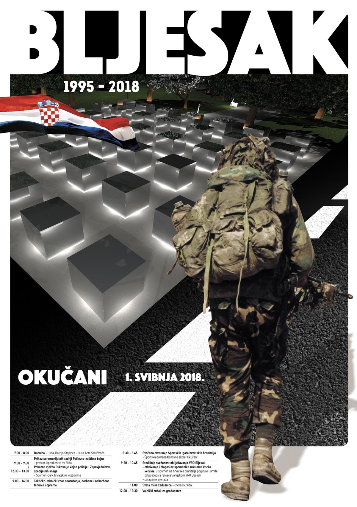 plakat Bljesak 2018