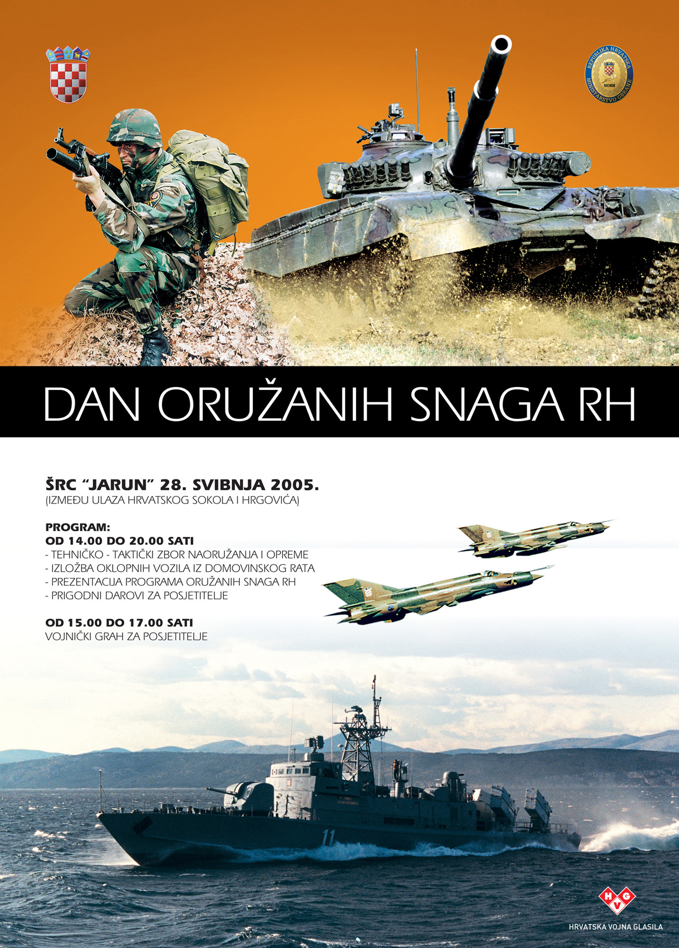 plakat Dan OS RH 2005