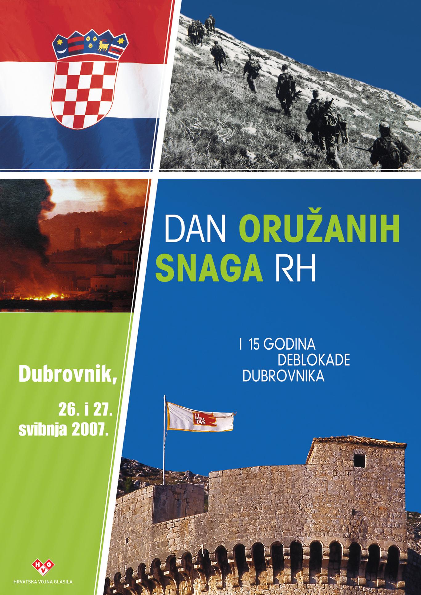 plakat Dan OS RH 2007