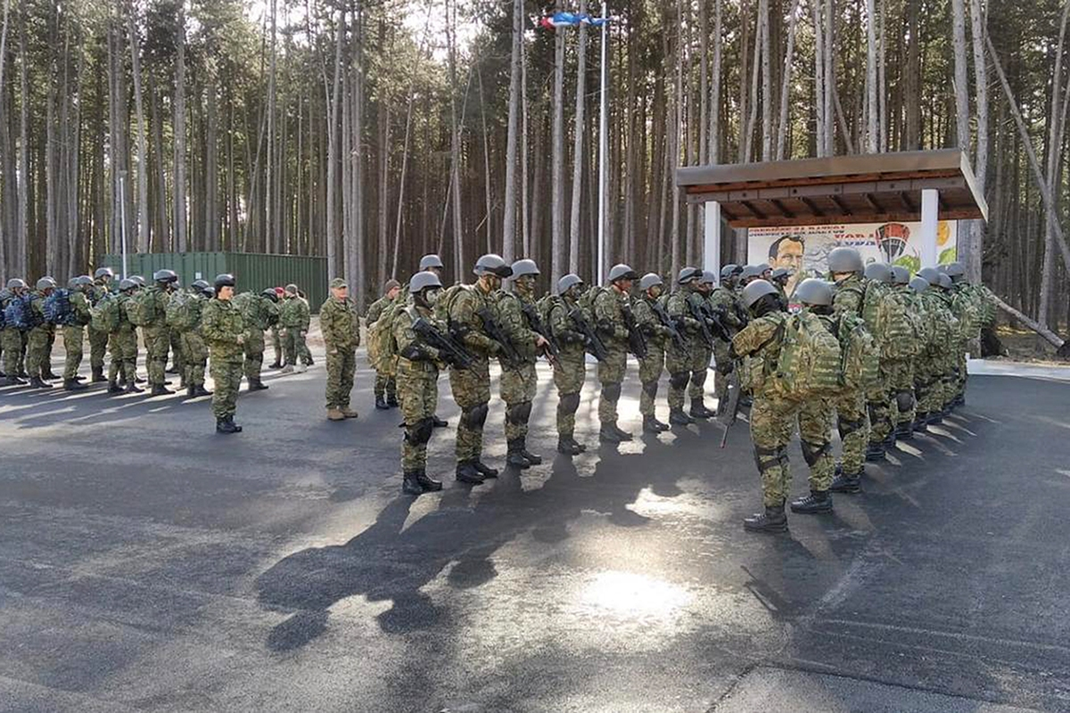 Na kampu sudjeluju kadeti 15. naraštaja programa Vojno inženjerstvo i Vojno vođenje i upravljanje, koji se nalaze na trećoj godini studija | Foto: HVU / Kadetska bojna