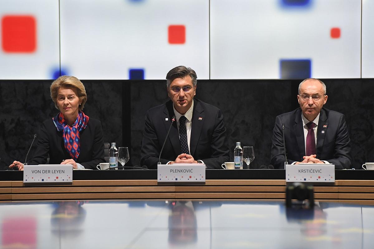 Početak sastanka Vlade Republike Hrvatske i Europske komisije