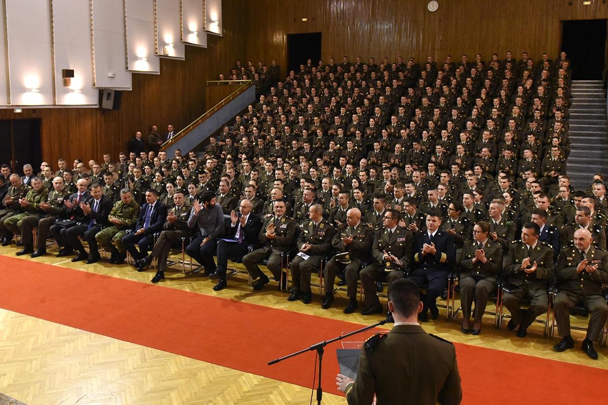 Mate Rimac držao predavanje na Hrvatskom vojnom učilištu