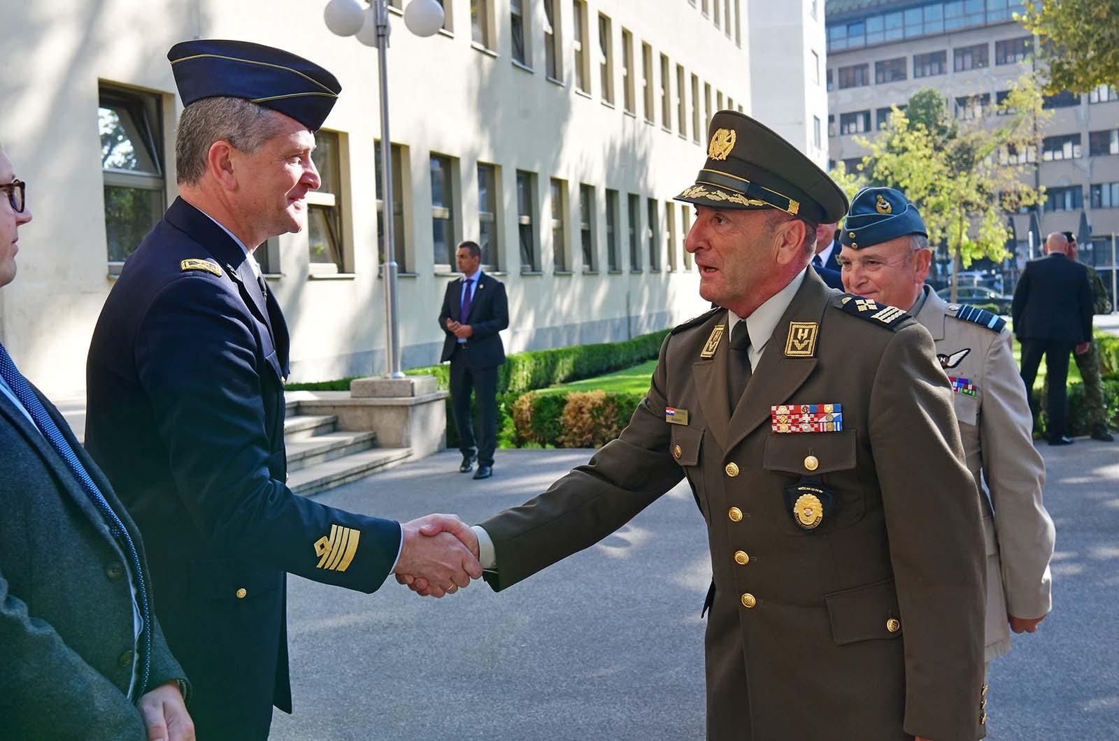 Predsjedavajući Vojnog odbora NATO-a general Peach u MORH-u