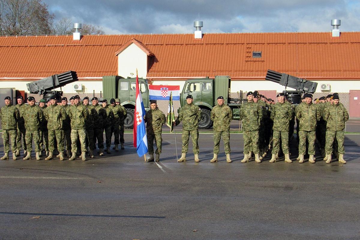 Održana je primopredaje dužnosti između 4. i 5. HRVCON-a u sastavu Borbene grupe Poljska u sklopu NATO aktivnosti ojačane prednje prisutnosti | Foto: HV/ M. Škovrlj