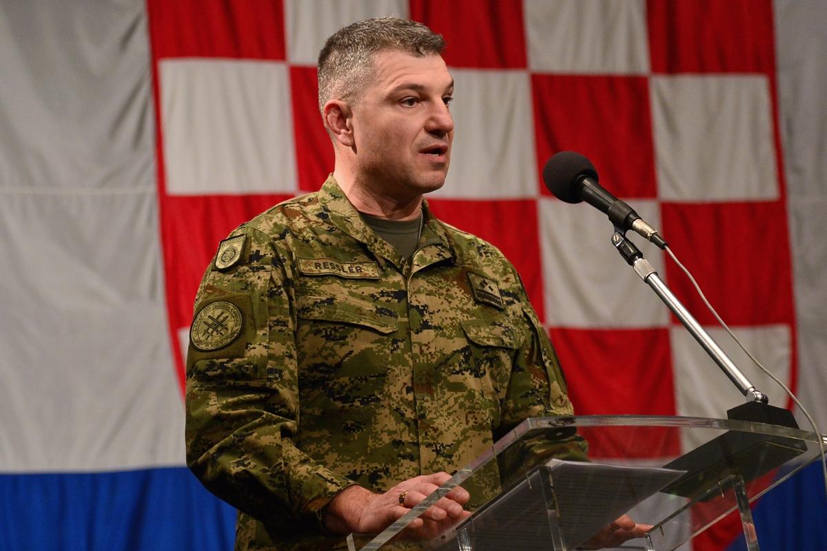 Primopredaja dužnosti zapovjednika Gardijske mehanizirane brigade