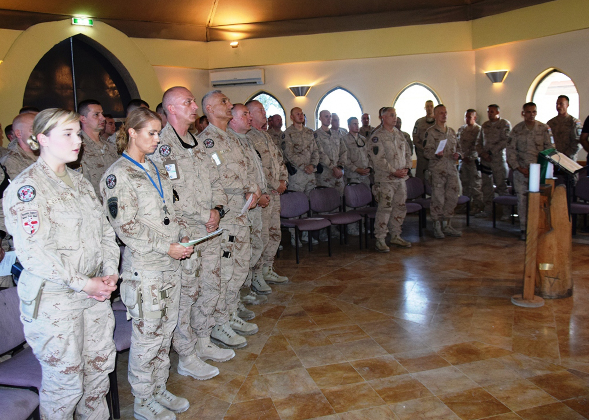 Pripadnici 10.HRVCON-a obilježili 24. obljetnicu VRO Oluja